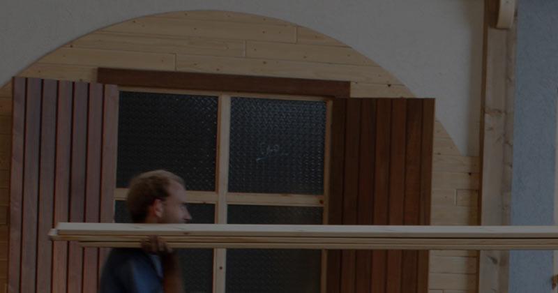 פאנל-מחסן עץ
