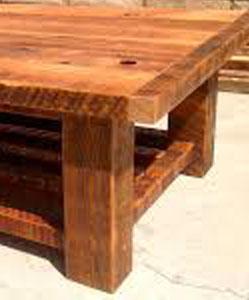 שולחן מעץ דאגלס