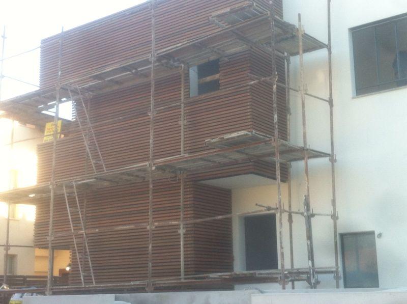 חיפוי עץ לבית פרטי